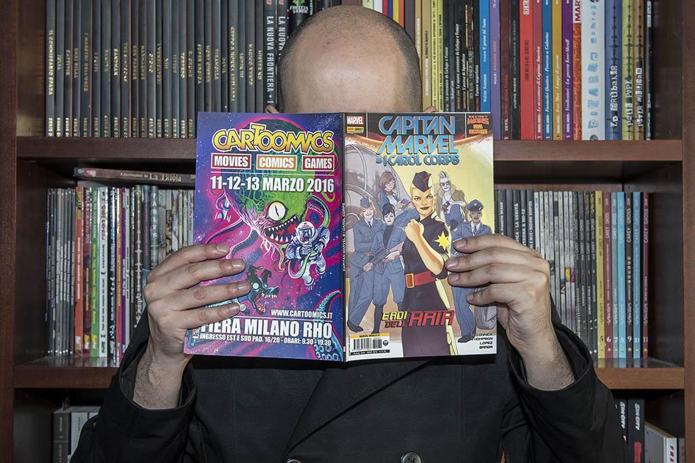 Capitan Marvel & i Carol Corps